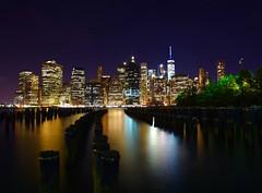Downtown Manhattan. (riksis23) Tags: nyc newyork freedomtower 24mmf28 nikond750