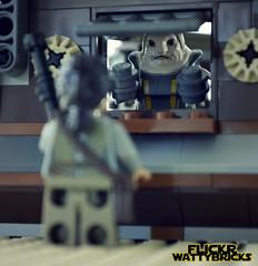 One Quarter Portion (WattyBricks) Tags: lego star wars episode vii the force awakens rey unkar plutt jakku niima outpost encounter 75148 quarter portion