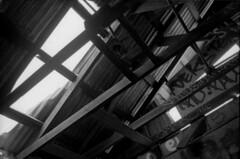 Abandoned (Mason Shefa) Tags: white black abandoned film graffiti los pentax takumar angeles kodak tmax mason super 400 spotmatic rodinal 35 adox shefa