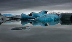 Grey & Blue (Marshall Ward) Tags: winter ice landscape iceland icebergs jkulsrln 2015 nikond800 afszoomnikkor2470mmf28ged marshallward