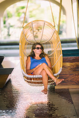 Down South (Thomas Hawk) Tags: hot sexy feet beautiful sunglasses mexico hotel cool cabo toes pretty julia gorgeous spouse babe swing fox wife earrings hottie lovely cabosanlucas classy loscabos juliapeterson fav10 fav25 hiltonloscabos mrsth loscaboshilton thickbeautifulhair