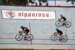 on the wall (Ben McLeod) Tags: me bike campbell velodrome cees alpenrosedairy