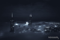 (6.22.16)-360_FogStorm-WEB-7 (ChiPhotoGuy) Tags: chicago skyline cityscape johnhancock hancock 360chicago night nightphotography weather stormy fog foggy stratus citylights city urban