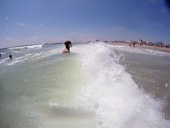 G0252500 (Tom Simpson) Tags: ocean beach maddie newjersey nj madeline jerseyshore boogieboard avonbythesea