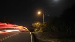 Barriman (LuisK) Tags: carretera luz luces barrido exposicion largaexposicin exposure cielo naturaleza paisaje desenfoque enfoque