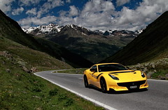 Tour D'Autriche (D.N. Photography) Tags: cars canon car automotive auto automobile automobiles austria transportation ferrari f12 tdf f12tdf eos exotic exotics timmelsjoch hochenalpenstrasse hochalpenstrasse mountain mountains road pass worldcars vehicle vehicles 7d tirol