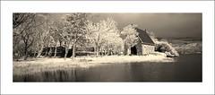 Island Church (Vincent's Photo Album No.1) Tags: bw lens ir ii 400 infrared xpan 45mm rollie