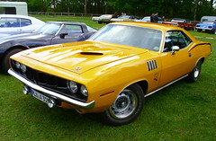 Plymouth 'Cuda 340 1971 (Zappadong) Tags: auto classic car 1971 automobile plymouth voiture coche classics oldtimer cuda oldie barracuda carshow 340 youngtimer 2016 automobil oldtimertreffen traventhal zappadong