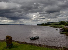The Approach (Brannan Photography) Tags: ocean sea sky seascape storm water weather clouds canon river landscape coast scotland pier boat fife tay sail newburgh canonphotography canon700d