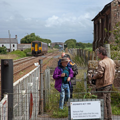 Cumbrian Conga? (Richie B.) Tags: coast flickr snapping trains class cumbria northern meet bootle 153 brel cumbrian hycemoor 2c41