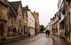 British Summer's Day in Oxford (littlestschnauzer) Tags: oxford historic historical architecture buildings street scene wet rain raining british summer 2016 visit june england old britain great city cloudy nikon d7200