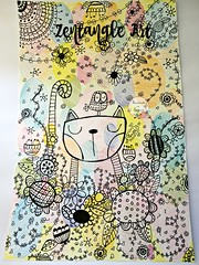 Zentangle Art (Click de Kika) Tags: zentangle art crayon mandala