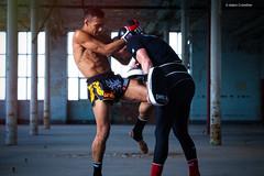 Muay Thai Knee (Adam-Crowther) Tags: ufc muaythai thaiboxing mma alienskin exposure7