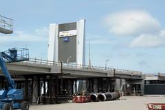 Maximabrug - 0658 (leoval283) Tags: maximabrug alphenaandenrijn brug project aanbouw deel1 fietsersbrug bridge isn part1 cyclistsbridge
