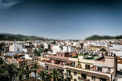 (Simone Vanelli) Tags: sky urban spain san shift tenerife laguna tilt cristobal spagna citt tiltshift canarie
