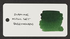 Diamine Music Set Beethoven - Word Card