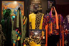 WWE Legend Macho Man Randy Savage outfit and photo displays (Eric Broder Van Dyke) Tags: california 2015 wwe axxess legend macho man randy savage outfit photo displays