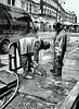 Cutting the pavement (Reinardina) Tags: england menatwork southampton atwork powertools powertool e11