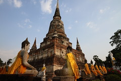 """WAT YAI CHAI MONGKHON (g e r a r d v o n k เจอราร์ด) Tags: artcityart art asia asia"""" architectuur archtecture asian buddha canoneos7d canon city colour ayuthaya expression eos earthasia fantastic flickraward pinnaclephotography ngc newacademy orange totallythailand photos refection stad street travel thailand thai tempel temple unlimited wat yabbadabbadoo 攝影發燒友 """"flickrtravelaward"""" where is this lifestyle whereisthis flickrsbest soe"""