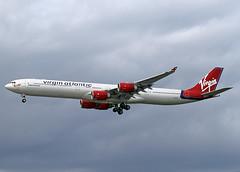 G-VBLU Airbus A340-642 Virgin Atlantic (Keith B Pics) Tags: heathrow virgin airbus lhr a340 egll gvblu