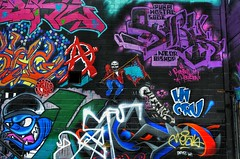 Urban graffiti, Houston (elnina999) Tags: street wallpaper urban building texture abandoned tourism colors beautiful wall graphicart america wow outside graffiti design mural colorful mess paint pattern texas view place bright artistic vibrant famous creative culture houston vivid landmark best collection example american graffitti backgrounds destination colored hip aerosol multicolored left mecca collective abuse attraction controversial nikond5100
