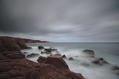 Red rocks (Fabrizio Contu) Tags: sardegna sea seascape water landscape coast nikon sardinia redrocks santantioco sigma1020 mangiabarche nikonflickraward nikonflickrawardgold nikonclubit nikond5100