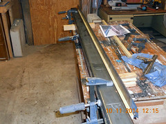 Hank Kennedy table saw project - diy guide rails 02