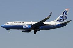 Moscovia Airlines B737-7L9 VQ-BER BCN 21/08/2010 (jordi757) Tags: barcelona nikon airplanes bcn boeing 737 avions b737 d300 elprat boeing737 b737700 lebl moscovia vqber