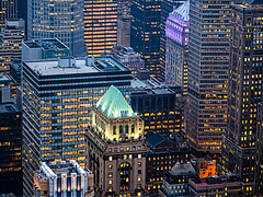 URBAN JUNGLE (Vincen Chuang) Tags: nyc newyorkcity urban newyork building skyline architecture america nightscape unitedstates manhattan olympus midtown jungle artdeco f18   omd nightscenes  em5     75mmf18