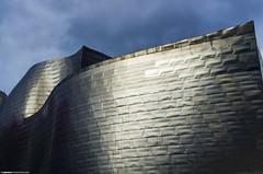 Bilbao - Pais Vasco - Guggenheim (Zamana Underground) Tags: metal design bilbao guggenheim paisvasco reflejos vanguardia