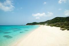 Tropical beach paradise, Amami Oshima, Japan (SamKent22) Tags: blue vacation white holiday seascape beach beautiful coral japan rural landscape japanese bay countryside sand aqua paradise view turquoise scenic kagoshima lagoon reef idyllic japon giappone amamioshima satsunanislands
