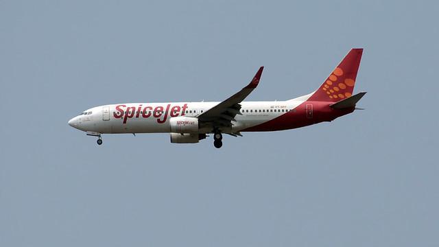 Spicejet Boeing 737-800 Coriander
