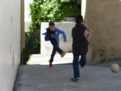 players (vasso giannaki) Tags: ball square foot football kid athletic village child play kick players athlet