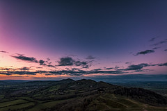 The Malverns (Explored 14/05/16) (Andy2305) Tags: sunset sky landscape dusk worcestershire herefordshire britishcamp malvernhills explored cloudsstormssunsetssunrises