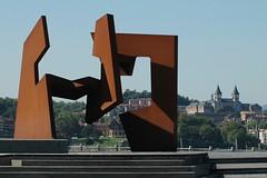 Sculpture de Jorge Carrasco  San Sbastien, Espagne (Oeil du Nez) Tags: sculpture art sculture carrasco espagne sansebastien oeuvredart sculptureurbaine