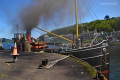 VIC 32 (Zak355) Tags: scotland riverclyde boat ship smoke scottish vessel bute rothesay isleofbute clydepuffer pufferboat vic32