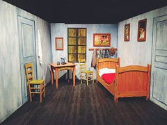 Bedroom in Arles - Van Gogh alive (domenicolacorte) Tags: experience vangogh