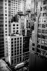 NYC Life2 (MEL2YYZ) Tags: new york nyc vacation urban bw tower tourism water truck manhattan sony cities condos appartment a6000
