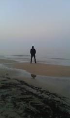 #abruzzo#italy#seaside#sea#beach#man#infinite#gray#love (claudiopiunti) Tags: sea italy man love beach seaside gray infinite abruzzo