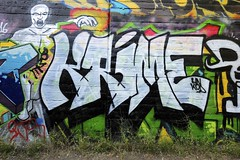 KRIME (STILSAYN) Tags: ca graffiti oakland bay east area 2016 krime