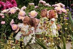 Blumenmdchen ... (Kindergartenkinder) Tags: dolls himstedt annette ilce6000 sony essen park gruga kindergartenkinder blumenbeet pflanze blume garten tivi annemoni sanrike milina