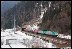 Rail Traction Company 483 004, Brennero 24-02-2016 (Henk Zwoferink) Tags: dc lomo traction rail company 001 004 brennero itali rtc traxx 483 trentinoaltoadige lokomotion termedibrennero