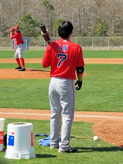 2016 Red Sox Spring Training - Workouts (murphman61) Tags: boston spring baseball florida redsox fl practice pitcher ftmyers springtraining leecounty mlb gulfcoast fortmyers majorleague workouts jetbluepark