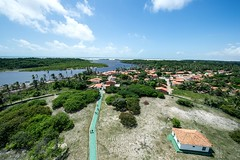 Vista do farol das Preguias (felipe sahd) Tags: praia beach brasil maranho mandacaru riopreguias farolpreguias