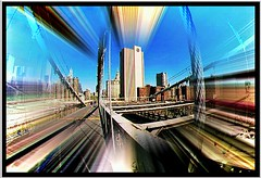 """A View from a Bridge"" (""SnapDecisions"" photography) Tags: city nyc bridge newyork brooklyn nikon hirschfeld"