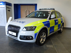 Audi Q5 (Emergency_Vehicles) Tags: blue light amber police exhibition national fleet audi association managers demonstrator q5 napfm