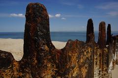 Buhnenreste am Ellenbogen (Sylt) (NeCoMuk_) Tags: sea strand meer mare north sylt nordsee stahl buhne ellenbogen