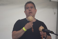 Bahareque (2016) 15 (KM's Live Music shots) Tags: venezuela shaker worldmusic maraca bahareque handpercussion barkingfolkfestival wilmersifontes abbeygreenbarking