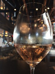 Saint & Second (htomren) Tags: phonepics saintandsecond wine ros glass