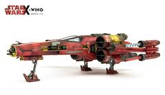 Bandai T-65 X-Wing (Andy R Moore) Tags: starwars xwing 172 bandai scalemodel incomt65